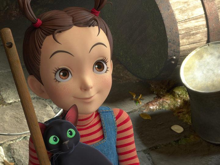 Japanilaisten näyttelijöiden näyttelijät Studio Ghiblin Korvakoru ja noita -elokuvasta