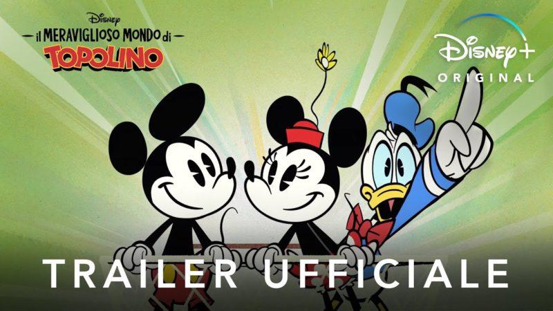 Il Meraviglioso Mondo di Topolino – Serie Originale in Streaming dal 18 Novembre su Disney+