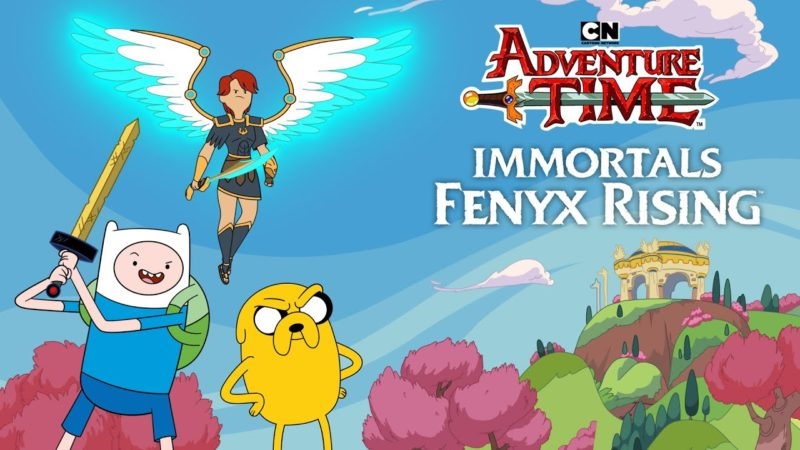 Trailer Crossover Immortals Fenyx Rising x Adventure Time | Cartoon Network Itália