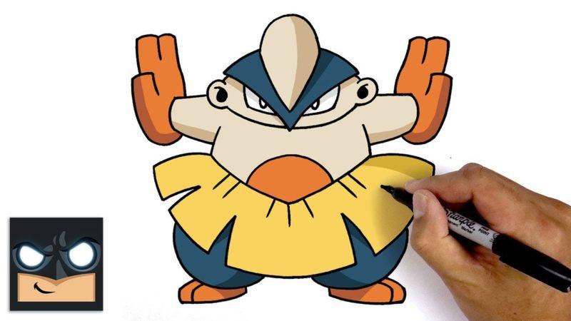 Come disegnare Hariyama dei Pokemon