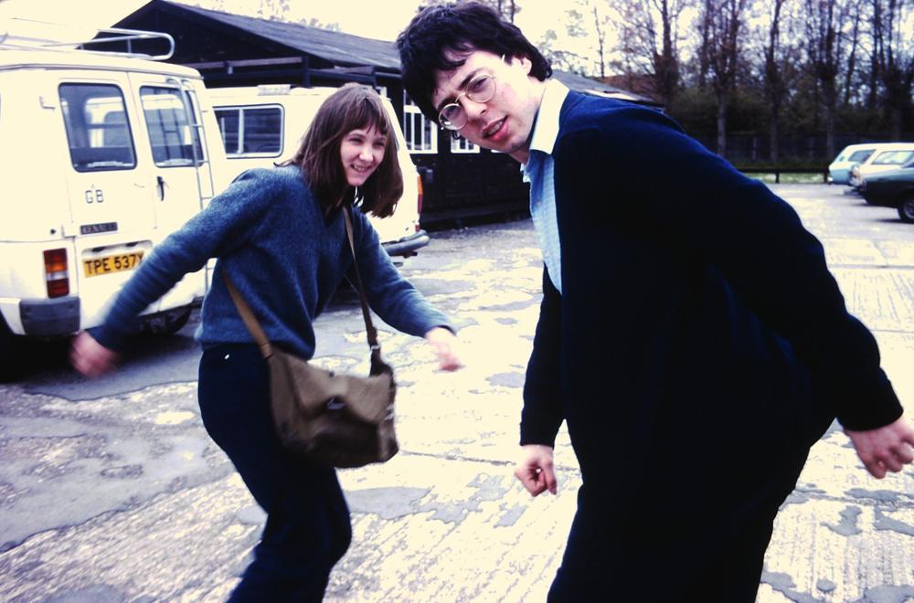 Alison Snowden e David Fine, i giorni della scuola di cinema (foto di Nick Park)