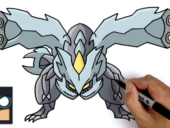 Come disegnare Kyurem | Pokemon