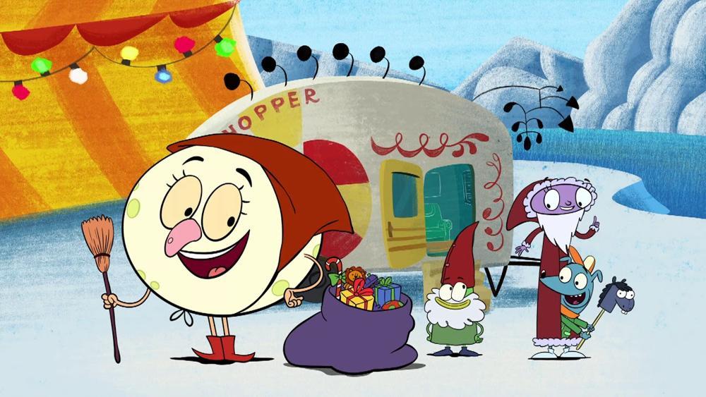 Let's Go Luna !: Luna's Christmas Around the World