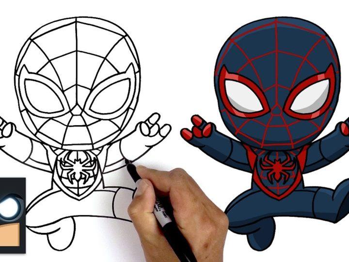 Spider-Man에서 Miles Morales를 그리는 방법