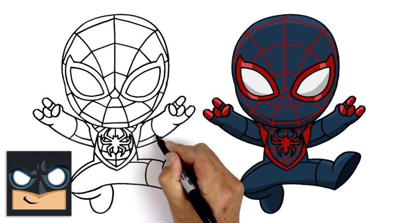 Come disegnare Miles Morales di Spider-Man