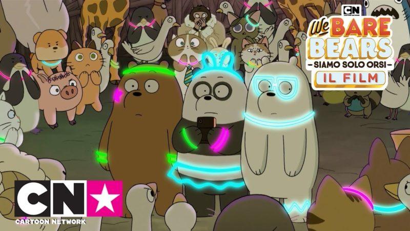 5 minuters förhandsvisning av filmen | Vi är bara björnar | Cartoon Network Italien
