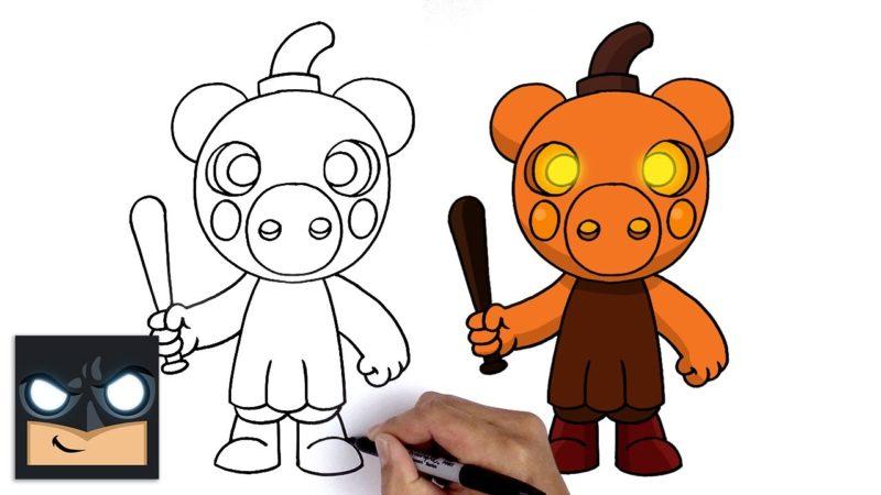 RobloxPiggyからPumpiggyを描画する方法