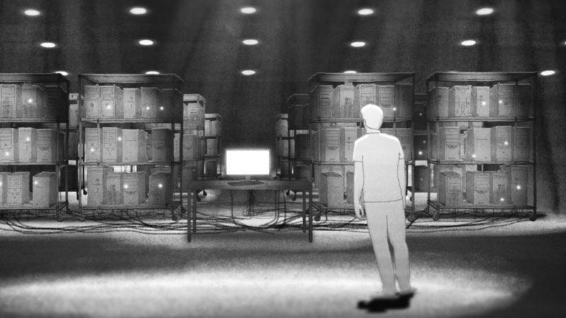 """""""Absolute Denial"""" filmul de animație științifică desenat manual"""