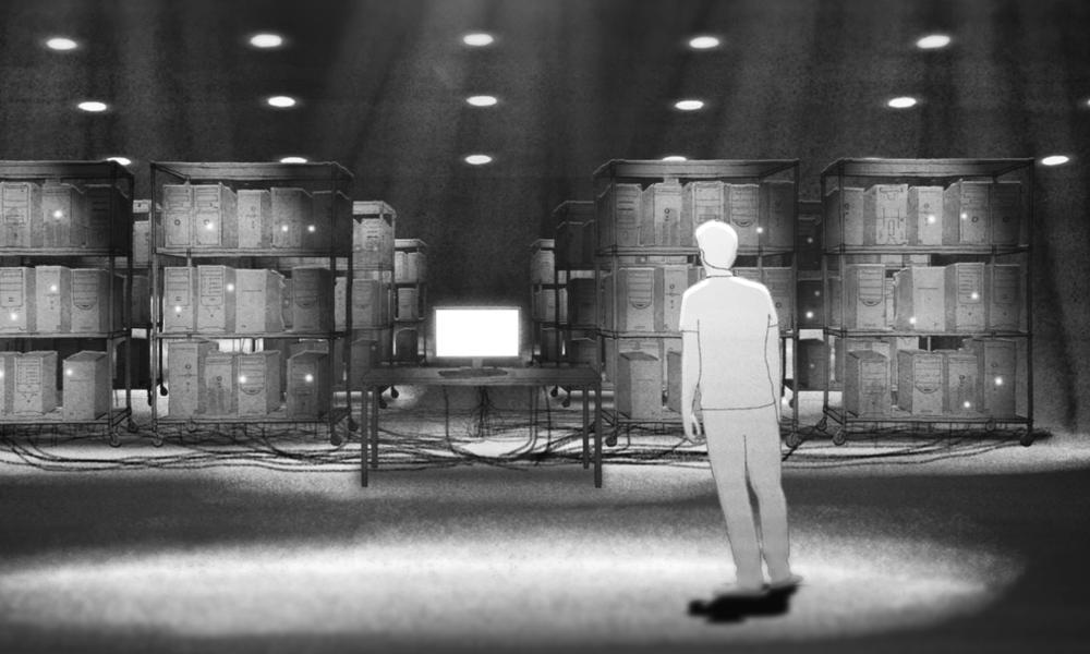 """""""निरपेक्ष इनकार"""" हाथ ने विज्ञान-फाई एनिमेटेड फिल्म को खींचा"""