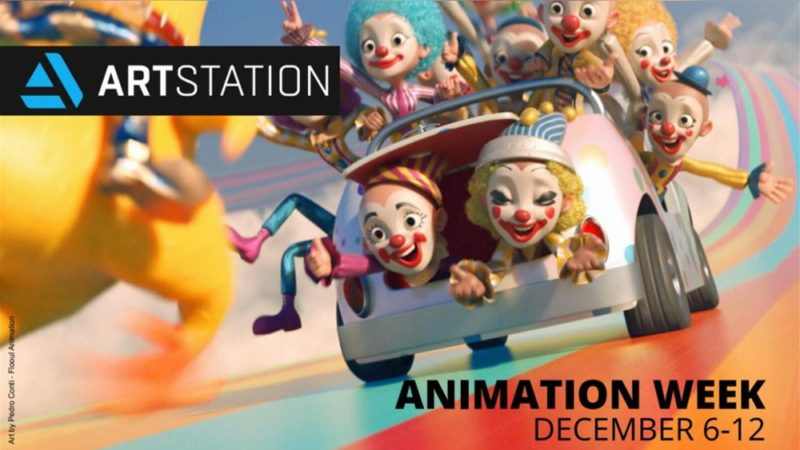 Envíe sus trabajos en ArtStation.com en la semana de la animación