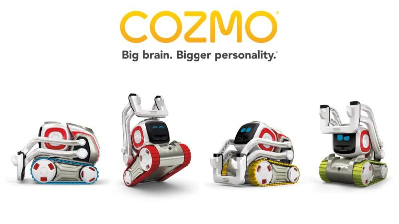 Sutikki collabora con la Digital Dream Labs  per la serie animata di Cozmo e Vector