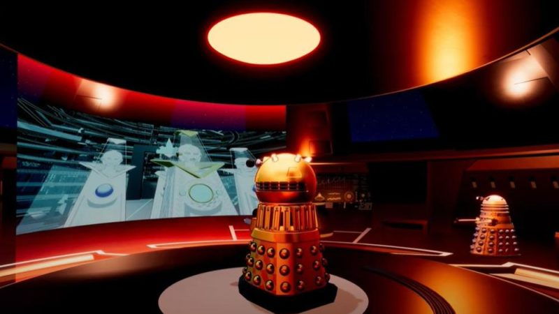 "The video of the first episode of ""Daleks!"" Doctor Who spinoff animated series"