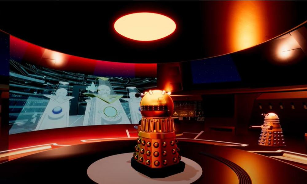 "Il video del primo episodio di ""Daleks!"" serie animata spinoff del Doctor Who"