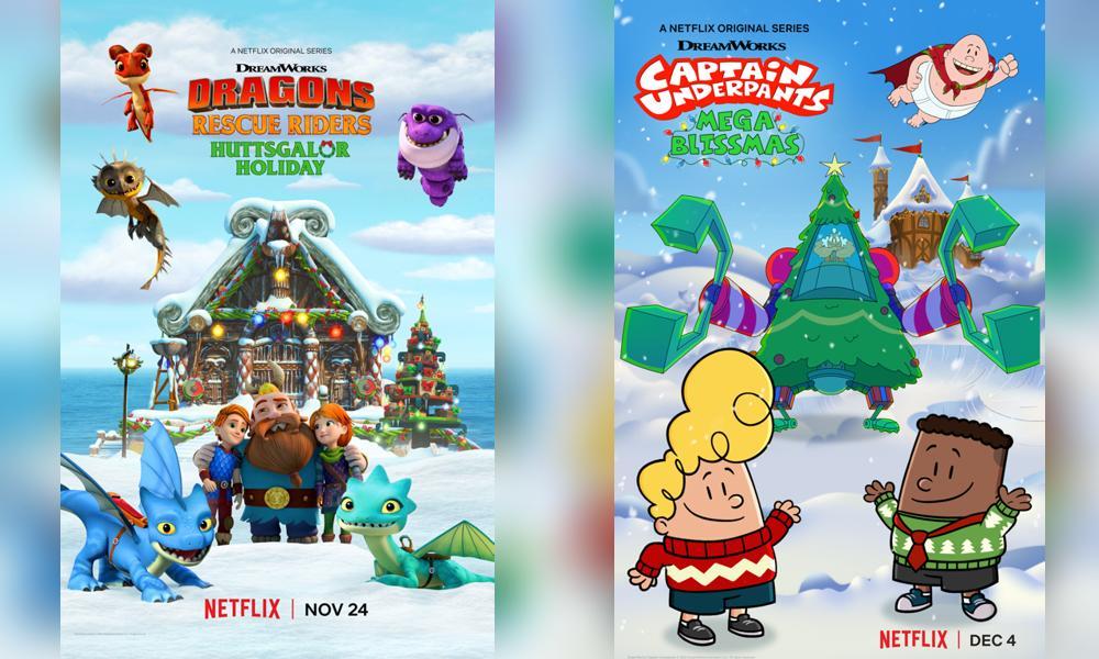 새로운 DreamWorks 크리스마스 스페셜 예고편