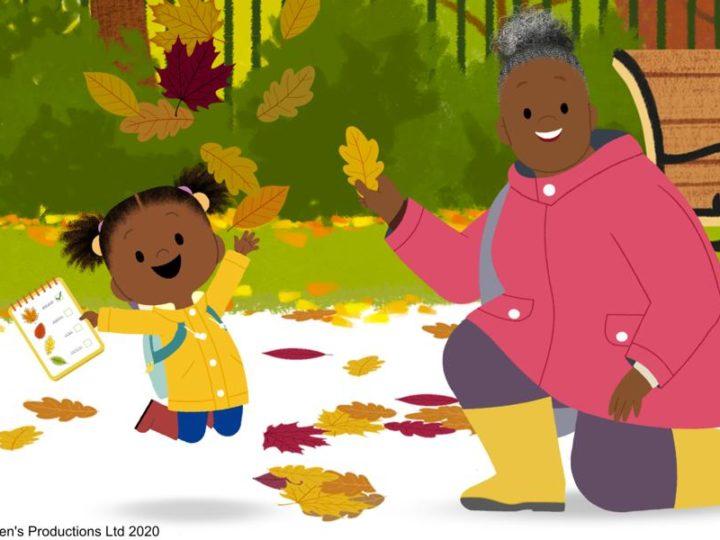 «JoJo and Gran Gran» la série animée britannique préscolaire sur CBeebies