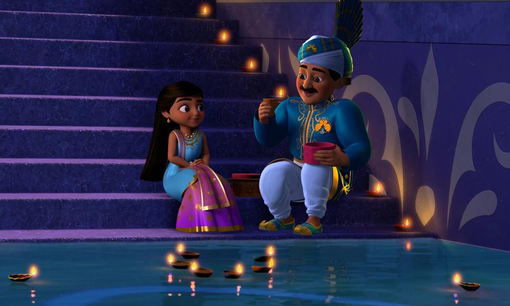 """Il cast e il coreografo di """"Mira, Royal Detective"""" condividono le celebrazioni di Diwali!"""