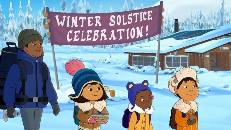 """Molly of Denali"" and ""Pinkalicious"" the animated series about winter"