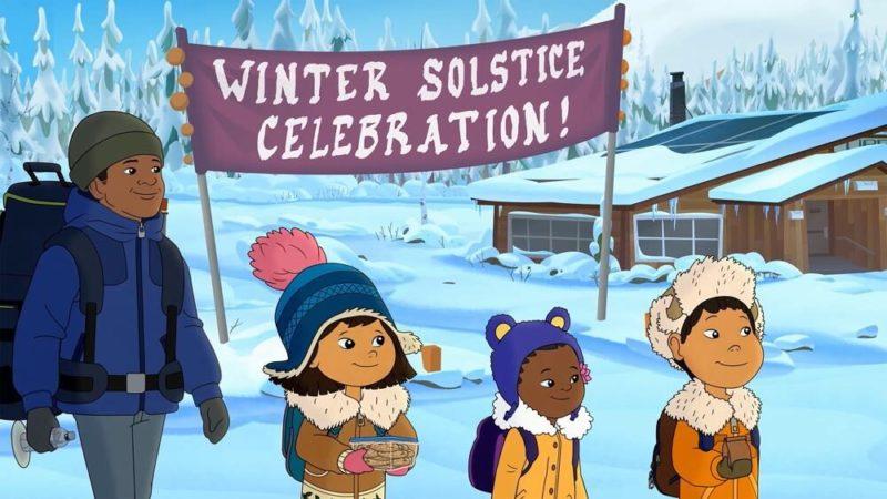 """""""Molly of Denali"""" și """"Pinkalicious"""" seria animată despre iarnă"""