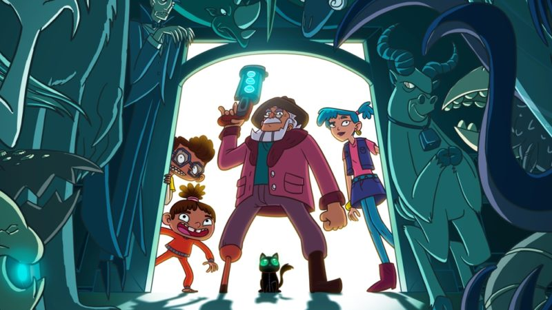 """Monster Loving Maniacs"" a série animada da Mondo TV e Toon2Tango"