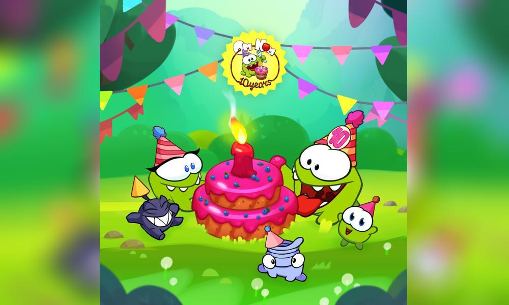 ZeptoLab festeggia il decimo compleanno di Om Nom
