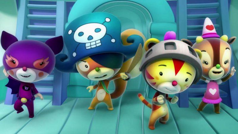 Notizie sui cartoni animati nelle TV mondiali e in streaming