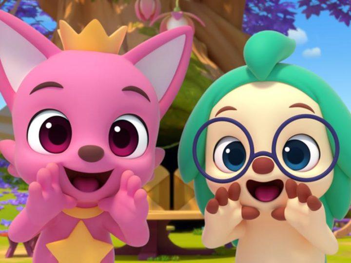"""""""Pinkfong Wonderstar"""" la série animée sur YouTube à partir du 3 décembre"""