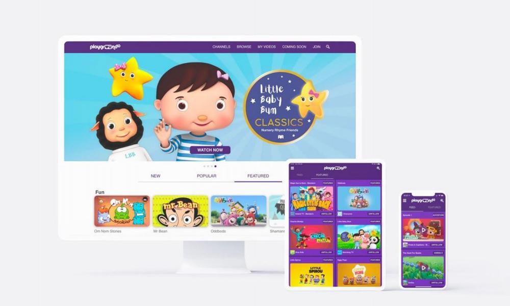 खेल का मैदान टीवी एक बच्चे को सुरक्षित बहुभाषी स्ट्रीमर शुरू करता है