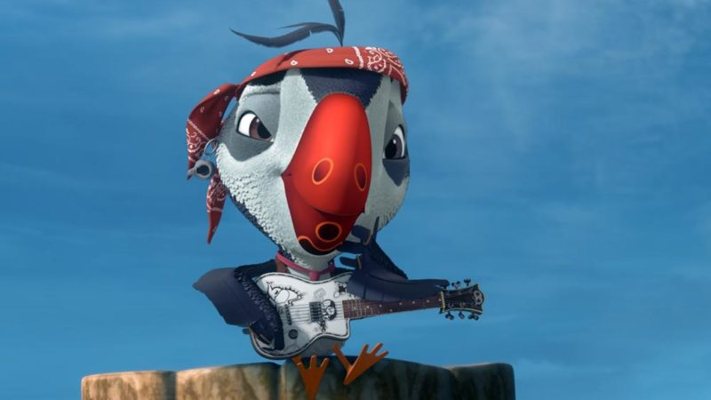 "The animated series ""Puffins"" will be voiced by Johnny Depp"