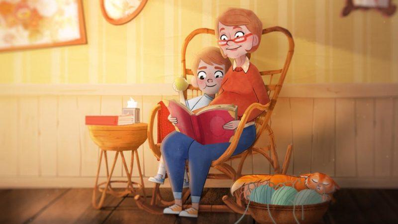 家族の一員の喪失についての感動的なアニメーション映画「ソル」
