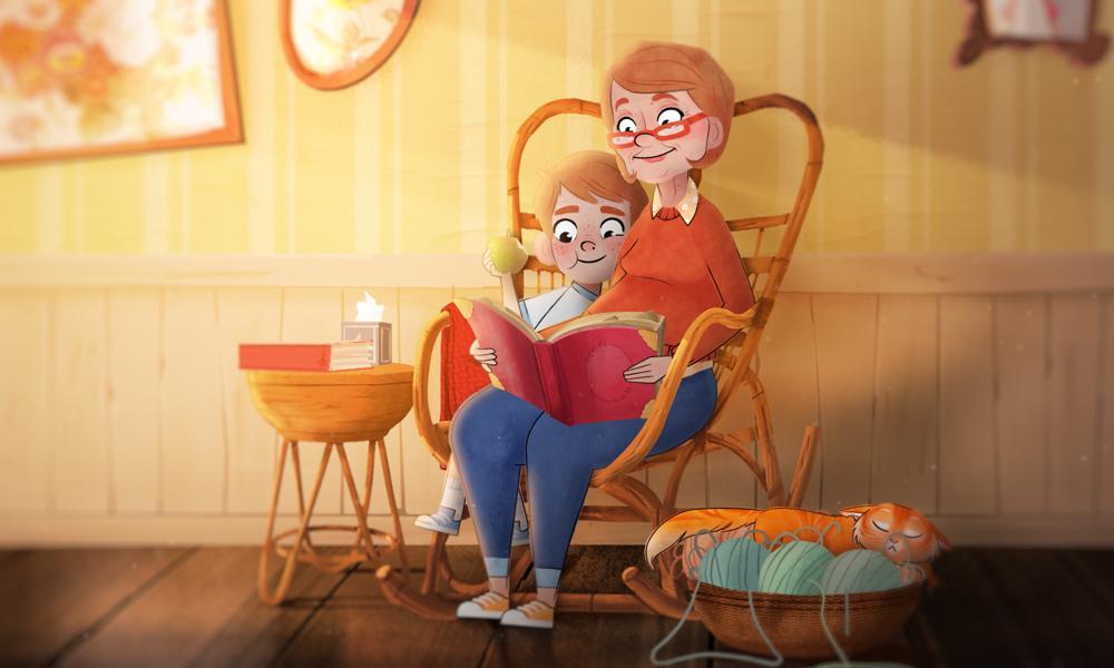 """""""Sol"""" il commovente film di animazione sulla perdita di un familiare"""