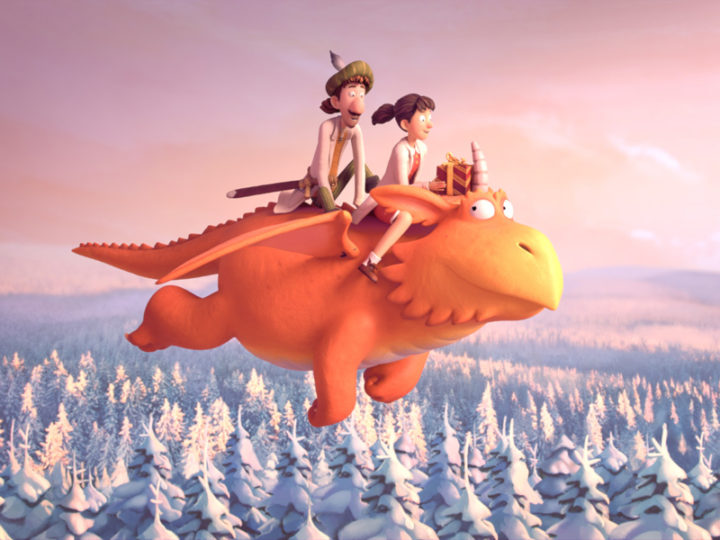 "Magic Light makes Christmas cartoons with ""Gruffalo"" and ""Zog"""
