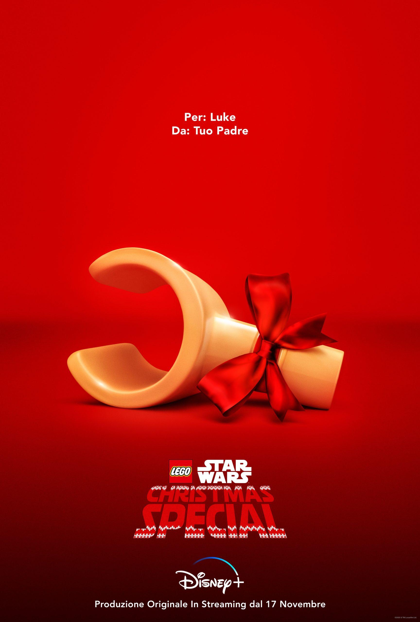 """Il trailer di """"LEGO Star Wars – Christmas Special"""" il 17 novembre su Disney+"""