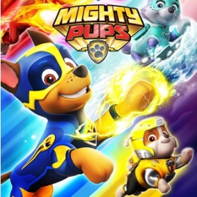 "Domingo 29 de noviembre a las 13,05 ""Paw Patrol Mighty Pups"" en Cartoonito"