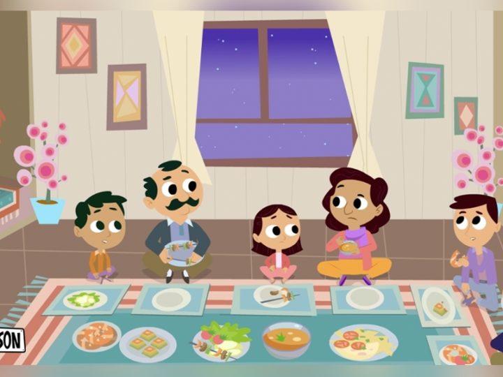 """"""" 16哈德逊""""学龄前动画系列,旨在促进移民的融入"""
