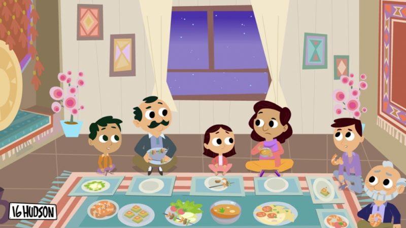 """""""16 Hudson"""" la serie animata prescolare che promuove l'incusione degli immigrati"""