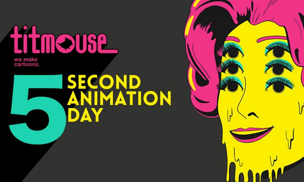 Titmouse 5 Second Animation Day