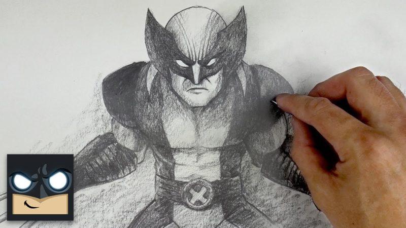 Como desenhar Wolverine com lápis