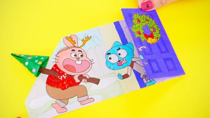 Lavoretti creativi e giochi per Natale con i personaggi dei cartoni animati