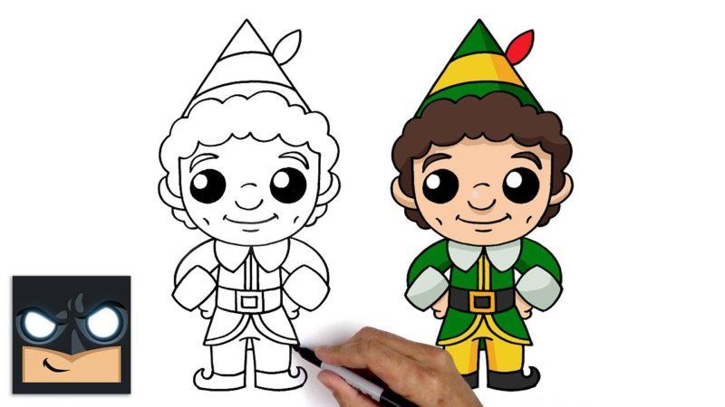 Come disegnare Buddy l'elfo da Cartooning Club
