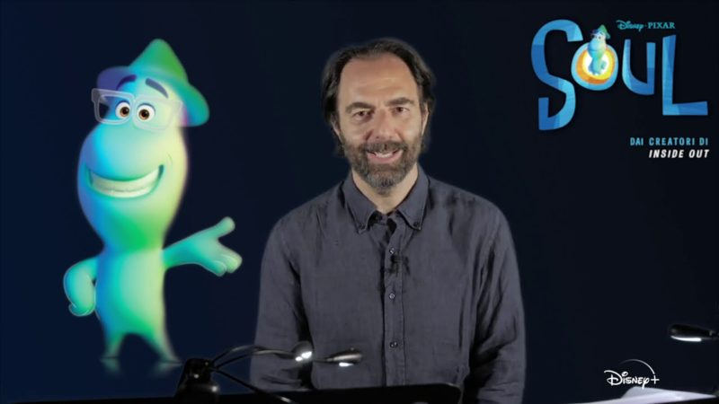 "Intervista a Neri Marcorè doppiatore del film Disney Pixar ""Soul"""