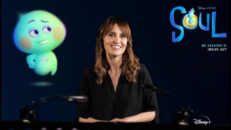 "Intervista a Paola Cortellesi doppiatrice del film Disney Pixar ""Soul"""