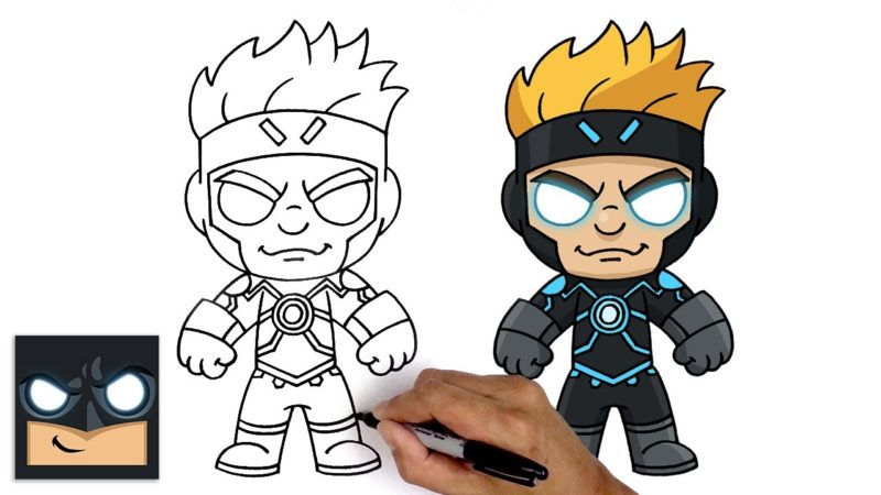 如何绘制X战警的超级英雄Havok