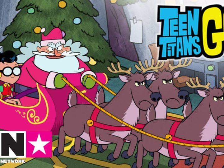 L'aiutante di Babbo Natale | Teen Titans Go! | Cartoon Network Italia