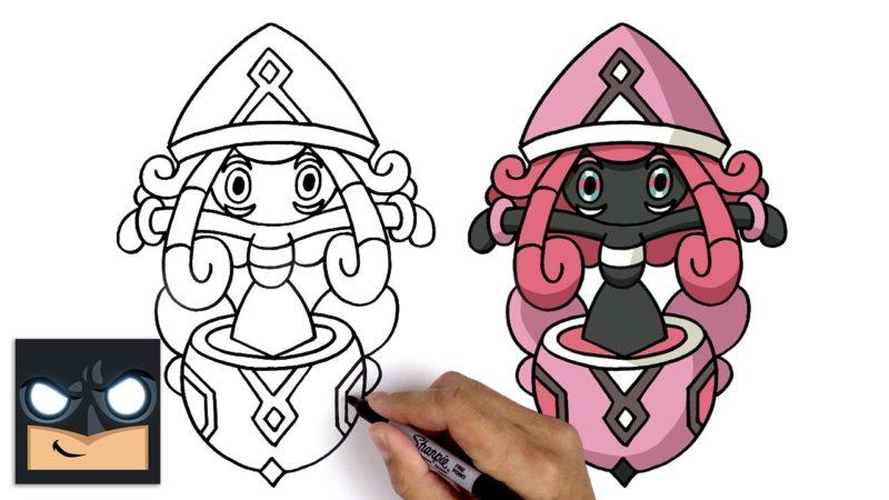 Jak narysować Tapu Lele z Pokemona