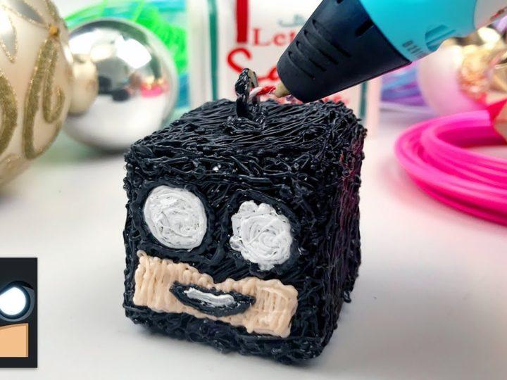 3D 크리스마스 트리 장식품 만들기 | Cartooning Club Crafts