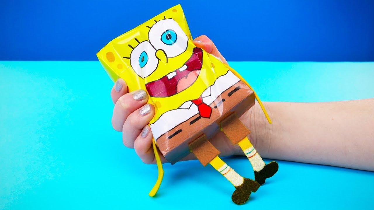 Come realizzare un pupazzo di spugna di Spongebob
