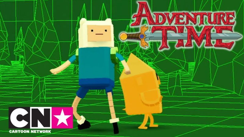 "Il video di Adventure Time ""Viaggio nel videogame "" di Cartoon Network Italia"