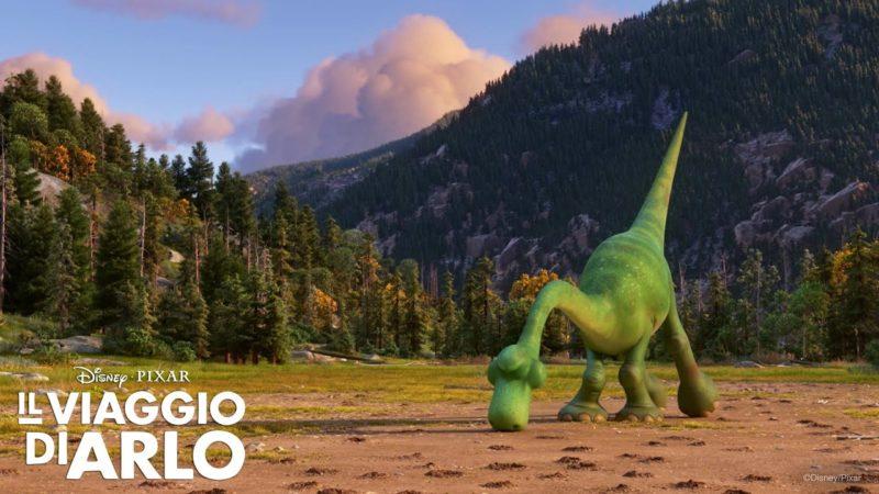 """Il video di Il Viaggio de Arlo """"Arlo e Spot giocano con le talpe"""""""