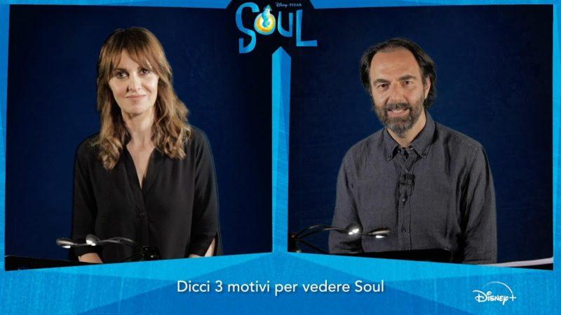 Intervista Doppia Paola Cortellesi e Neri Marcorè i doppiatori italiani di Soul