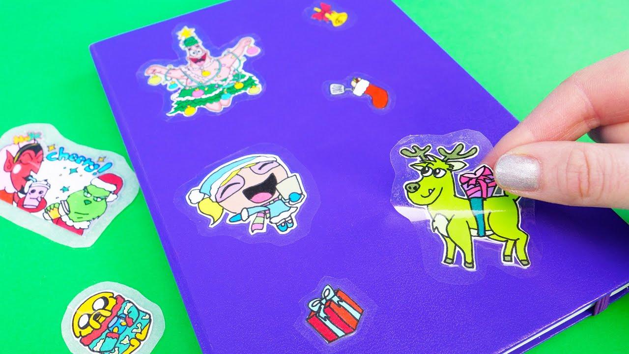 Come realizzare adesivi con i personaggi dei cartoni animati